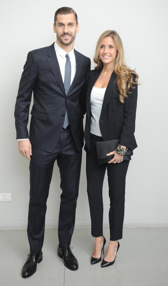 María Lorente y Fernando Llorente, un matrimonio futbolero
