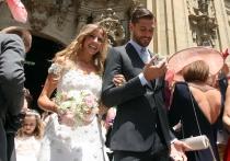 La boda de Fernando Llorente y María Lorente causó expectación