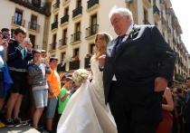 La guapa María Lorente, el día de su boda