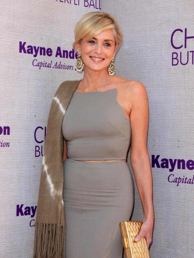Sharon Stone, otra famosa mamá por vientre de alquiler