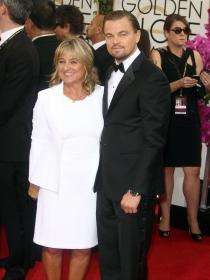 Suegras de Hollywood: la madre de Leonardo DiCaprio