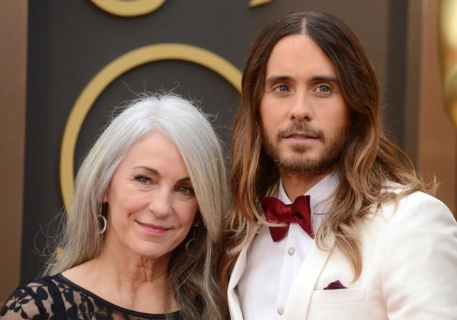 Suegras de Hollywood: la madre de Jared Leto