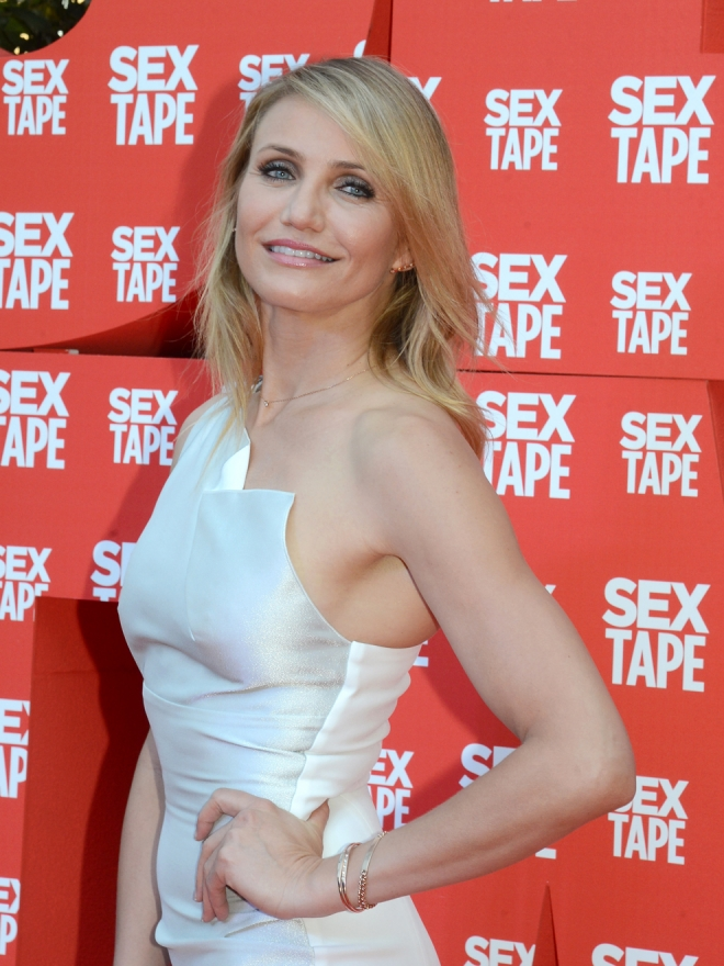 Cameron Diaz, una actriz que sabe posar