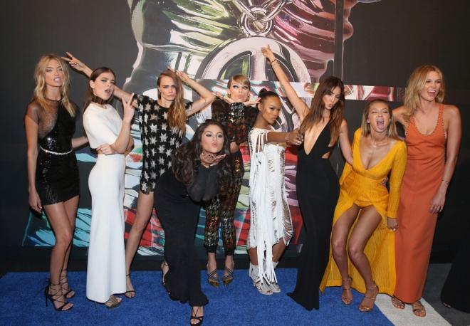 MTV VMAs 2015: Taylor Swift y su ejército de Bad Blood