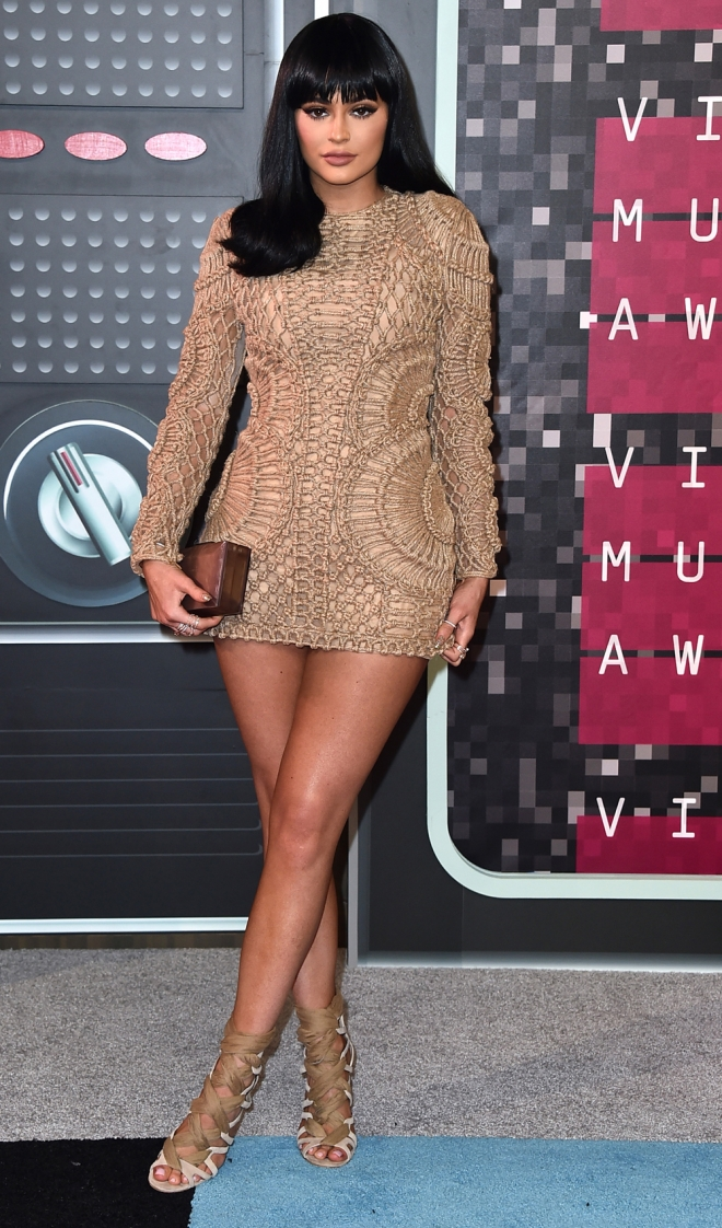 MTV VMAs 2015: Kylie Jenner, hermana de Kim Kardashian