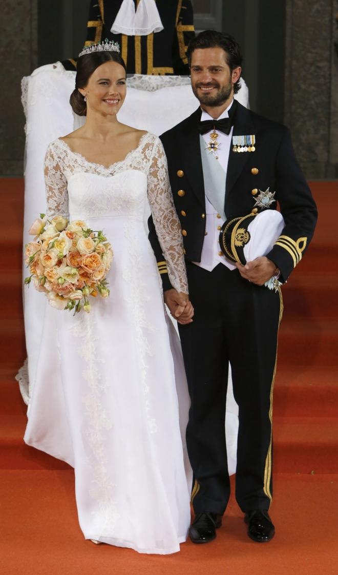 Bodas de famosos 2015: Sofia Hellqvist y Carlos Felipe de Suecia