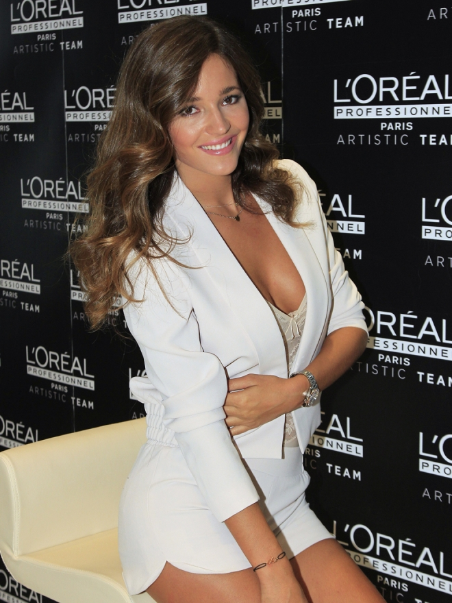 La sensualidad de Malena Costa