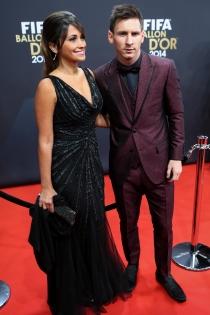 Padres 2015: Leo Messi y Antonella Roccuzzo
