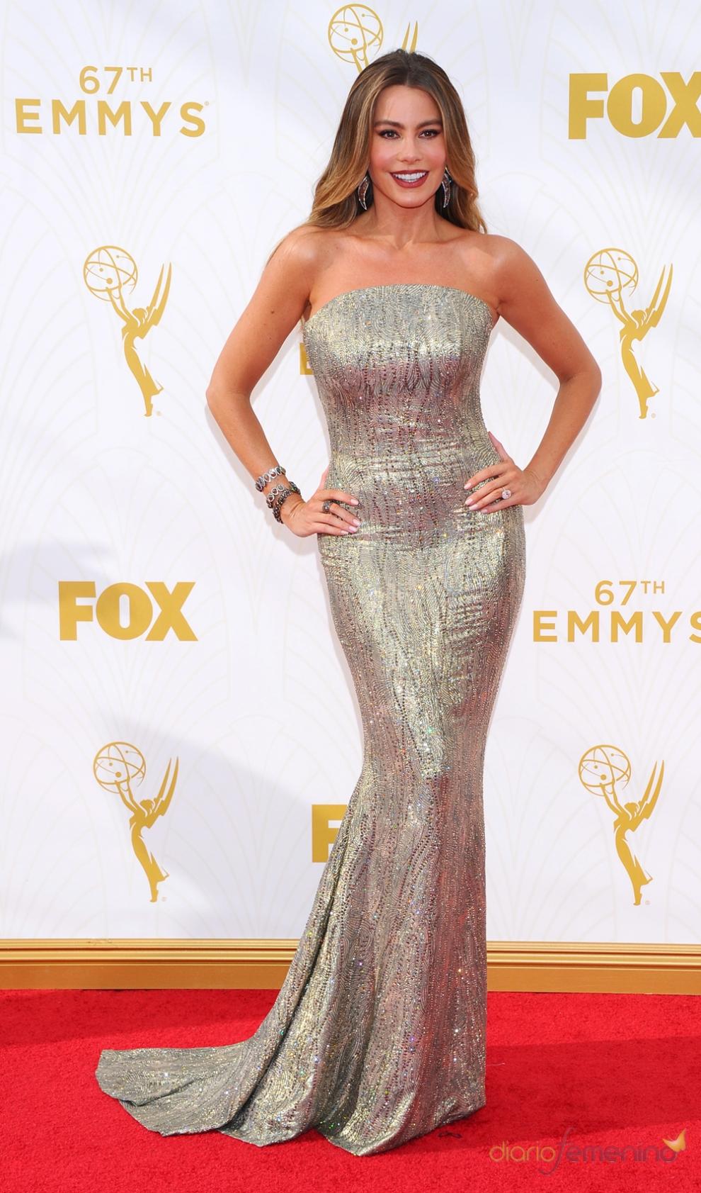 Emmys 2015: el look más sexy de Sofía Vergara