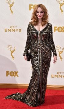 Emmys 2015: la actriz de Mad Men, Christina Hendricks