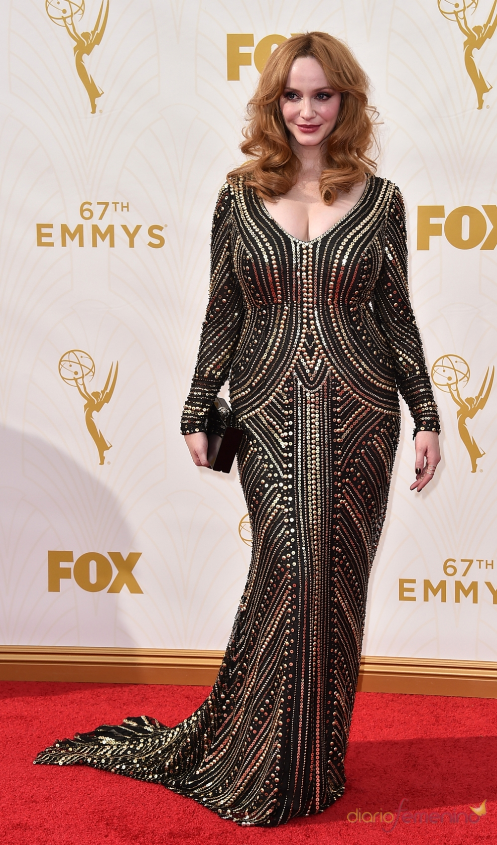 Emmys 2015: la actriz de Mad Men, Christina Hendricks