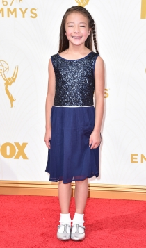 Emmys 2015: Audrey Auberson-Emmons, de Modern Family