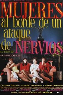 Películas de Pedro Almodóvar: Mujeres al borde de un ataque de nervios
