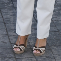 Pies de famosas: los pies de Belén Esteban