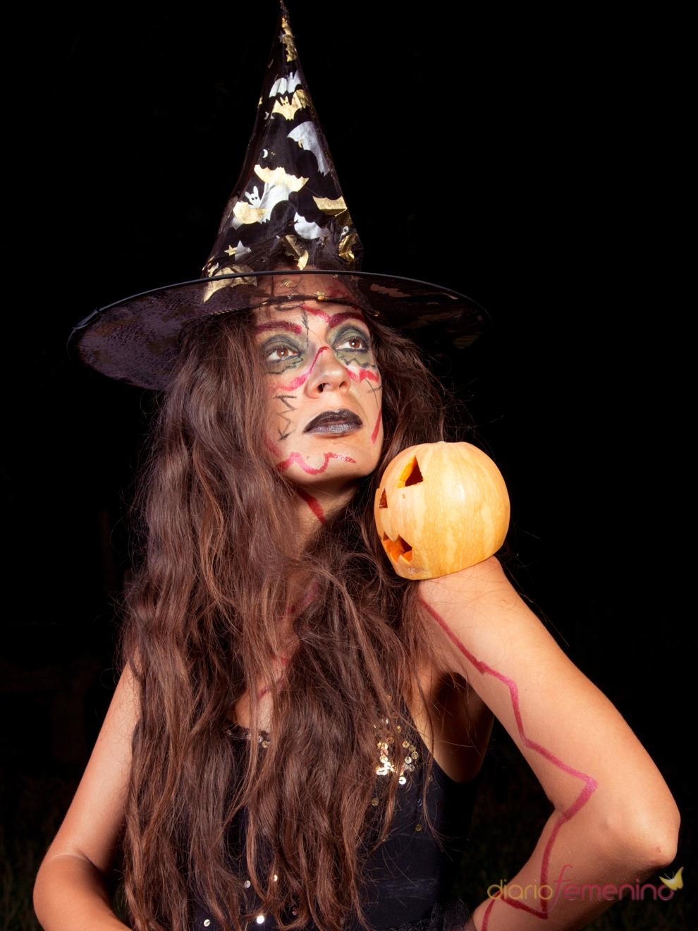 Im genes de halloween una bruja - Imagenes de halloween ...