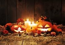Imágenes de Halloween: calabazas iluminadas