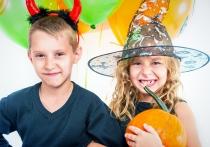 Imágenes de Halloween: terror divertido con niños