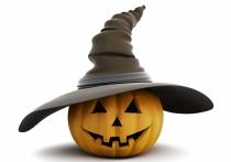Imágenes de Halloween: calabazas y brujas