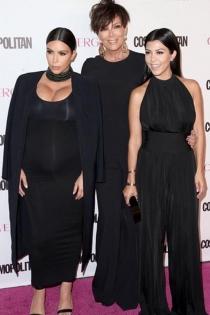 50 aniversario Cosmopolitan: Kris Jenner arropa a sus hijas