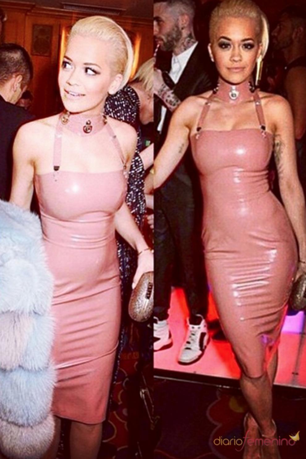 Rita Ora, el clon de Kim Kardashian