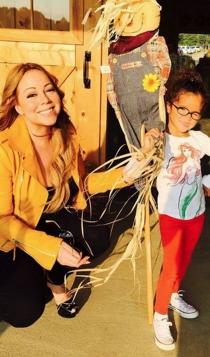 Halloween Pumpkin: Mariah Carey su hija, muy divertidas