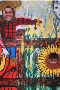 Halloween Pumpkin: Alyssa Milano, diversión con su hijo