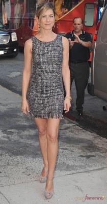Vestidos para la cena de empresa: el diseño de Jennifer Aniston
