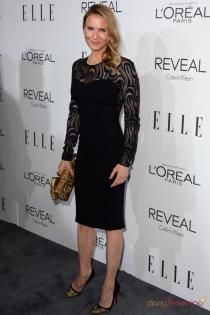 Vestidos para la cena de empresa: el total look black de Renée Zellweger