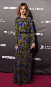 25 aniversario Cosmopolitan: Leticia Dolera, animal print
