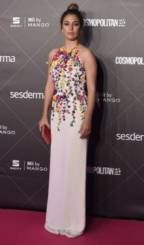 25 aniversario Cosmopolitan: Blanca Suárez apuesta por las flores