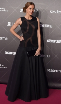 25 aniversario Cosmopolitan: María Castro apuesta por el negro