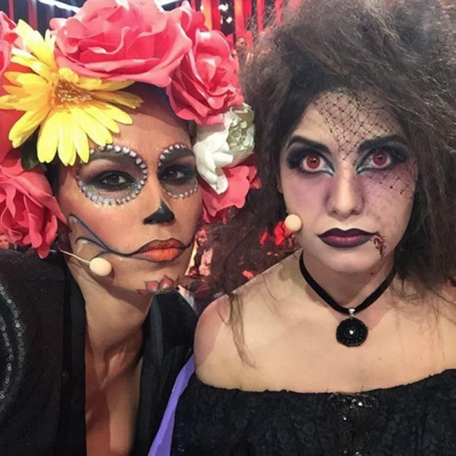 Ares Teixidó y Mireia Canalda, un Halloween en GH 16
