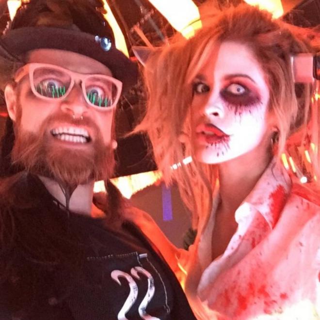 Ylenia, terrorífica disfrazada de Halloween