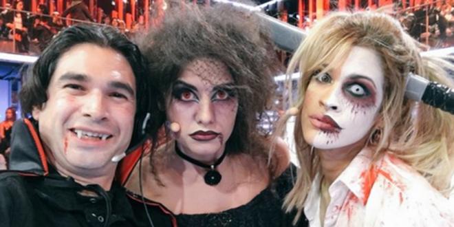 Ylenia, la más terrorífica de Halloween