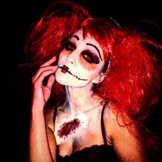 Halloween en Instagram: la foto terrorífica de Paula Echevarría