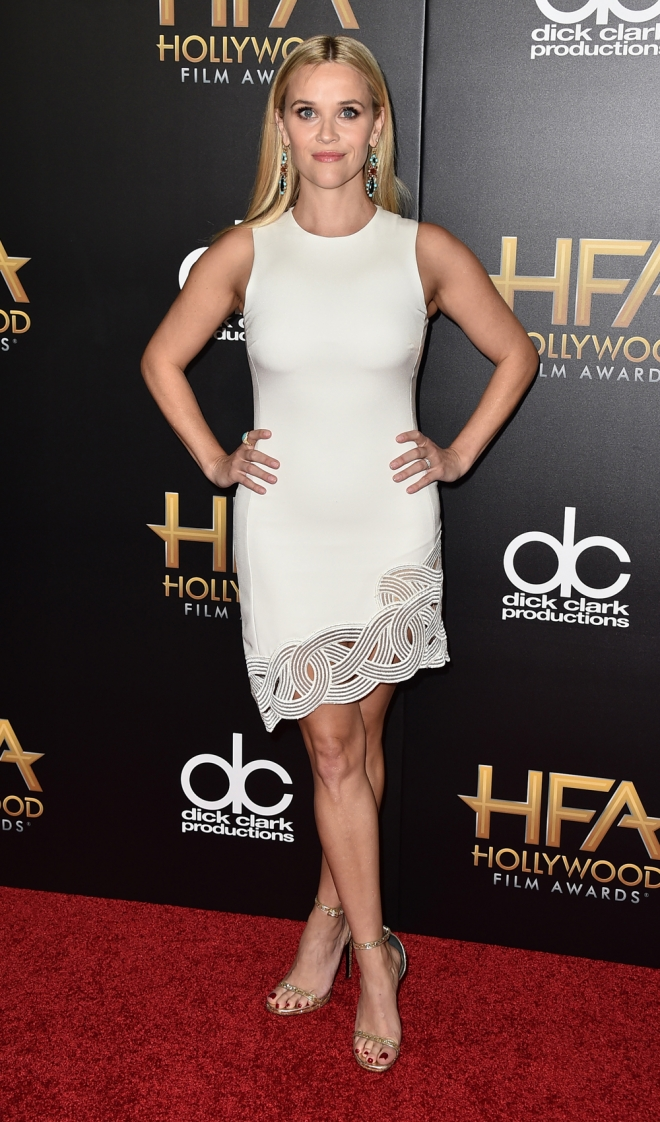 Hollywood Film Awards: Reese Whiterspoon, muy guapa