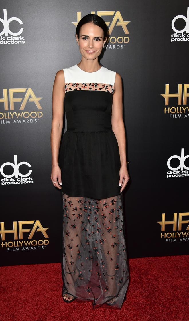 Hollywood Film Awards: Jordana Brewster, elegante y original