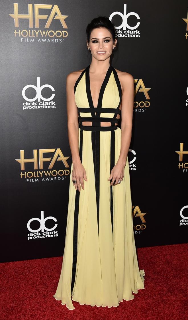 Hollywood Film Awards: Jenna Dewan, elegante y sexy