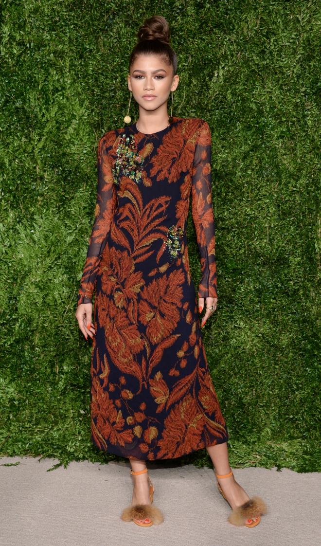 Premios CFDA Vogue: Zendaya apuesta por el estampado