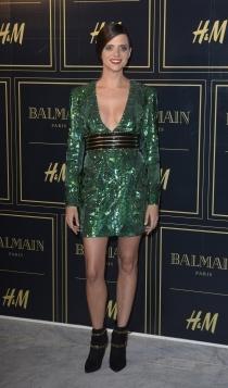 Balmain para H&M: Macarena Gómez , muy llamativa