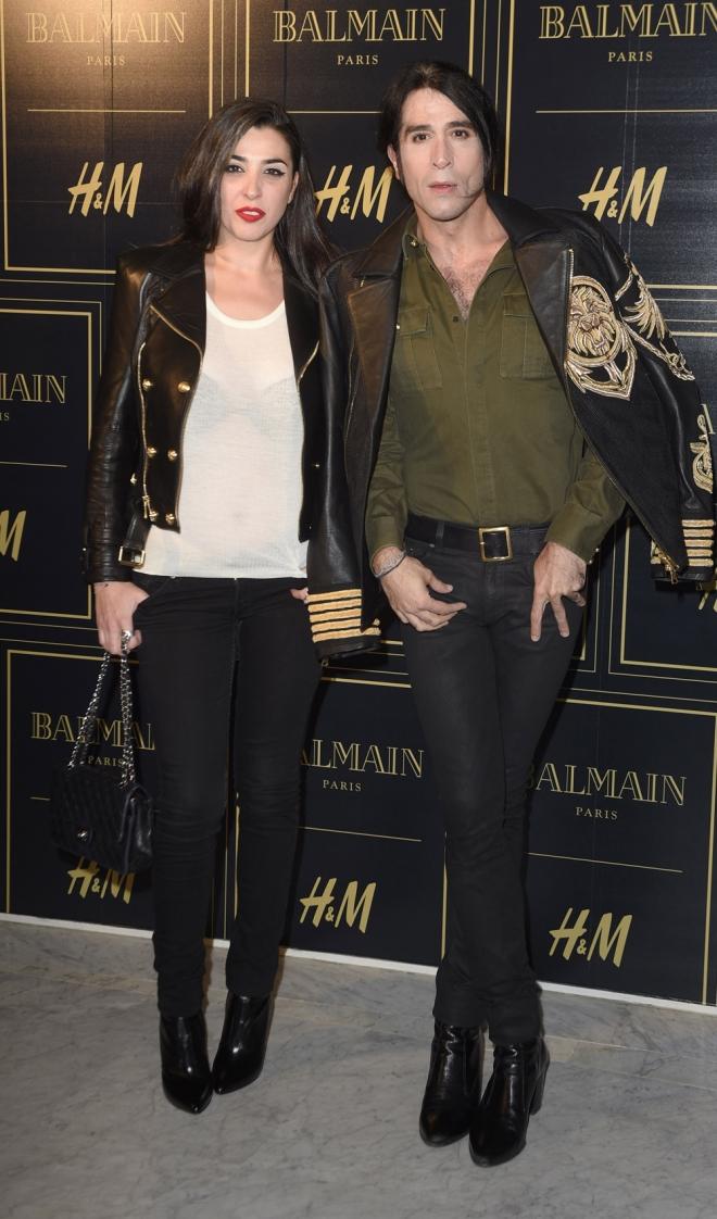 Balmain para H&M: Marta y Mario Vaquerizo, inseparables
