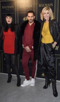 Balmain para H&M: Bibiana Fernández y Rossy de Palma