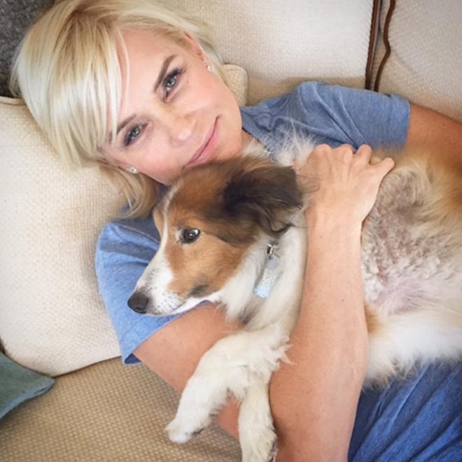 La madre de Gigi Hadid, una amante de los animales