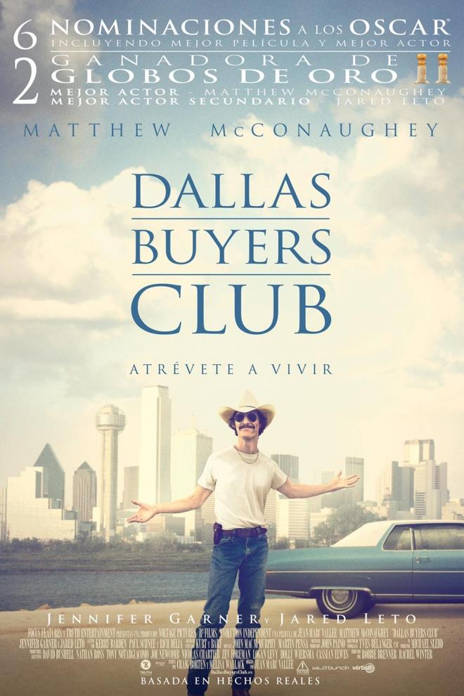 Películas Matthew McConaughey: Dallas Buyers Club