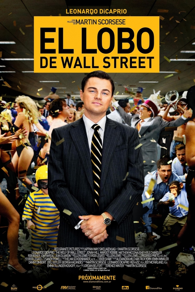 Películas Matthew McConaughey: El lobo de Wall Street