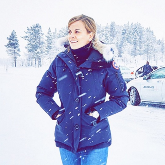 Susie Wolff, piloto de Fórmula 1 en Instagram