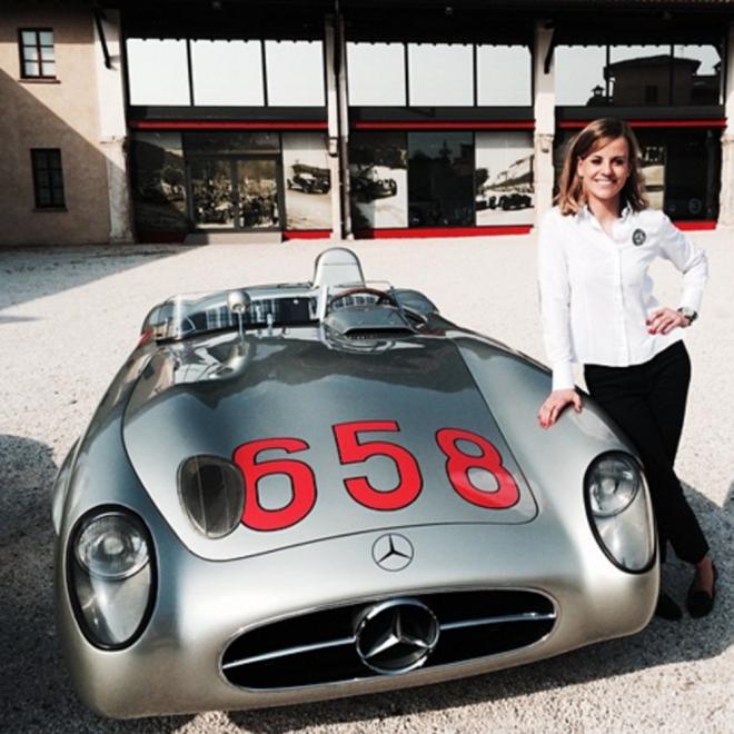 Susie Wolff, piloto y modelo de Fórmula 1