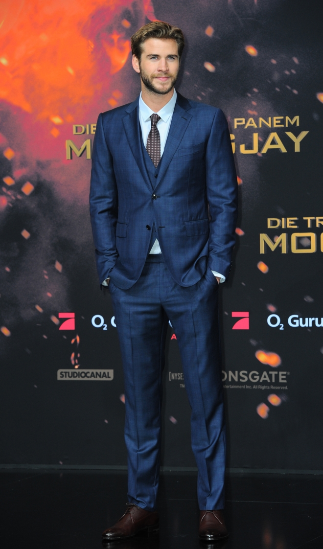 The Hunger Games: Liam Hemsworth, hecho un pincel