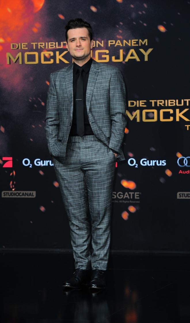The Hunger Games: Josh Hutcherson, muy guapo