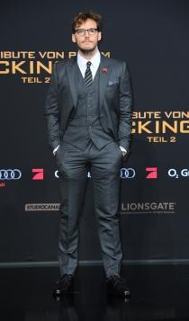 The Hunger Games: Sam Claflin, todo un caballero
